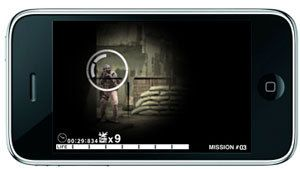 Metal Gear Solid sur iPhone : MGS Touch