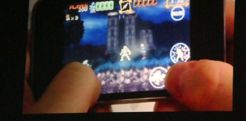Ghouls'n Ghosts bientôt sur iPhone ?