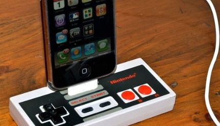 Un dock NES pour iPhone